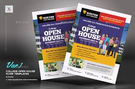 open house flyers template college open house flyer templates by kinzishots graphicriver