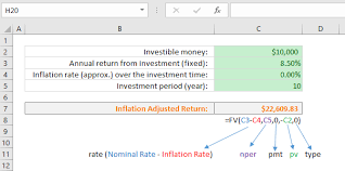 projected inflation calculator how to calculate future value with inflation in excel