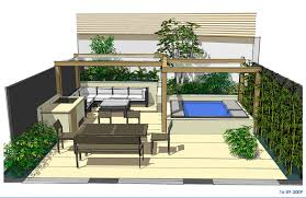 Small Picture Hot tub garden design North London Earth Designs Garden Design