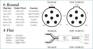 6way plug car end 6 pin round trailer wiring diagram like 4 pin round trailer plug diagram somurich for wiring a 6