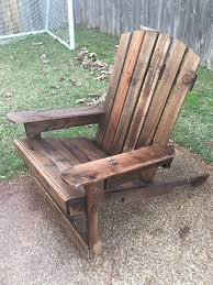 adirondack chairs from pallets. Exellent From DIY Pallet Adirondack Chair Samples Inside Chairs From Pallets E