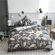 nordic bed sheet queen size bedding set