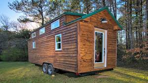 Small House On Wheels Country Cabin Feel Interior Tiny House On Wheels Small Home