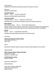 Stocker Resume Example Http Resumesdesign Com Stocker Resume