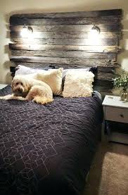 King size wood headboard Diy Headboard King Size Headboard With Lights Old Wood Headboard Home Headboards King Size Barn Within Vintage Designs Grailstutorialscom King Size Headboard With Lights Emailsupremacyinfo
