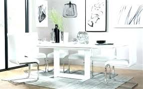 high gloss table and chairs extending dining table sets white dining table set white high gloss