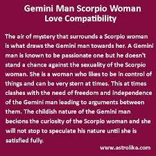 Gemini Man And Scorpio Woman Love Compatibility Pisces