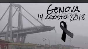 Risultati immagini per lutto nazionale genova