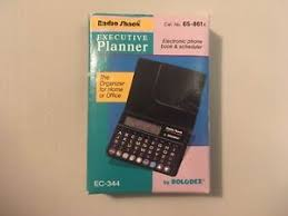Details About Radio Shack Executive Planner By Rolodex New