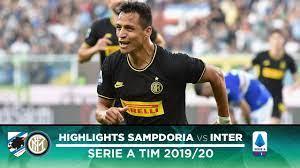 SAMPDORIA 1-3 INTER | HIGHLIGHTS | Sensi, Sanchez and Gagliardini with the  goals! - YouTube
