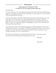 Best Solutions Of Best Picker And Packer Cover Letter Examples For