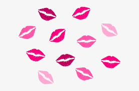 pink lips clip art free transpa png