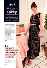 avon owner lacey beard is featured in avon catalog the wichita eagle