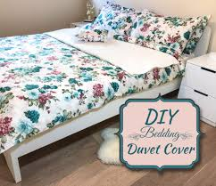 picture of diy bedding duvet cover