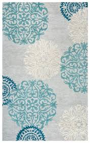 dimensions new zealand wool rectangular area rug 10 x 14 blue grey ivory white