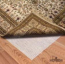 highestar super gripping nonslip area rug pad gripper for hard floors 8 x 10 fasc6pu2