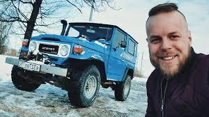 Забрал машину мечты <b>Land Cruiser FJ40</b> 83 года - YouTube