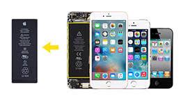 udskiftning af batteri iphone 4s