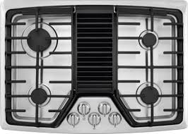 gas cooktop with downdraft. Frigidaire RC30DG60PS - Front View Gas Cooktop With Downdraft N