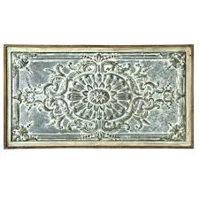 exterior wall medallions seaside scroll architectural large outdoor