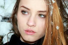 無料画像 雪 冬 女の子 女性 ヘア ポートレート モデル