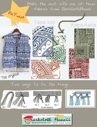 513 best Barkcloth Hawaii Fabrics images on Pinterest | Africa ... & Saw this cute vest and thought of my tattoo Adamdwight.com
