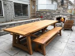 farmhouse table benches