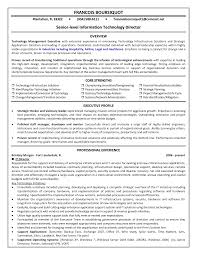 information technology manager resume experience resumes information technology manager resume regard to information technology manager resume