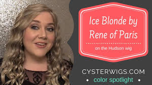 Cysterwigs Color Spotlight Ice Blonde By Rene Of Paris On Hudson
