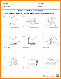 9+ 6th grade geometry worksheets | math cover
