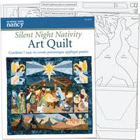Applique Quilts Patterns - Quilting & SILENT NIGHT NATIVITY ART QUILT BOOK WITH PATTERNS Adamdwight.com