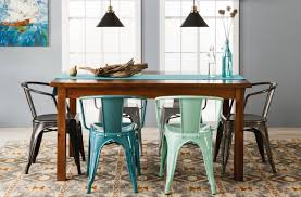 farm 60 dining table target threshold metal chairs