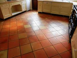 image of terracotta floor tiles gum tree