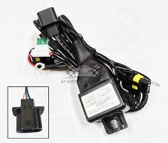 hid relay harness h13 (9008) 12v 35w 55w bi xenon hi lo h l wiring HID Relay Harness Install at 55w Hid Wiring Harness