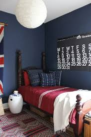 Blue And Red Boys Bedroom Ideas