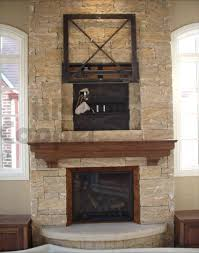 custom fireplace from chicago for corner stone fireplace decoration nice creammy brick details dark brown victorian wooden shelves great fireplace ed