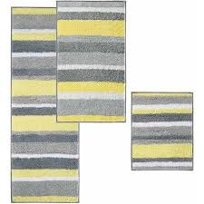yellow bath rugs elegant interdesign stripz bath rug 21 17 pics of yellow bath rugs