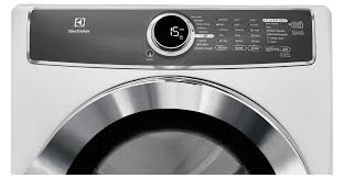 electrolux 617 washer. front load perfect steam™ electric dryer with instant refresh and 9 cycles - 8.0 cu. ft. efme617siw electrolux appliances 617 washer t