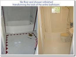 shower reglazing bathtub refinishing