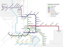 bts skytrain wikipedia Bts Map 2017 map of bangkok urban transit systems bts map 2017 bangkok