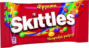 <b>Конфеты жевательные в</b> глазури Фрукты <b>Skittles</b>
