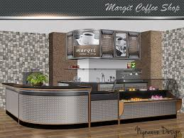 on the sims resource sims 3 wall art with nynaevedesign s margit coffee shop