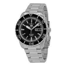 seiko 5 black dial automatic men s watch snzh55 seiko 5 seiko seiko 5 black dial automatic men s watch snzh55