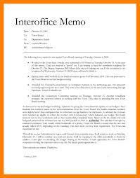 Office Memosample Office Memo Interoffice Memorandum Sample