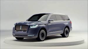 2018 lincoln navigator colors. delighful 2018 the 2018 lincoln navigator concept is revealed exterior intended lincoln navigator colors