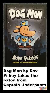 captain underpants dav pilkey cartoon dog man book