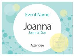 Free Name Badge Designs Creative Name Tag Design Pc Nametag