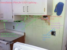 Under Counter Lighting Kitchen Easy Under Cabinet Kitchen Lighting Highlight Beautiful
