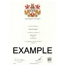 university degree certificate sample replacement degree certificate university of kent