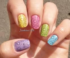 Znalezione obrazy dla zapytania stemple na paznokciach